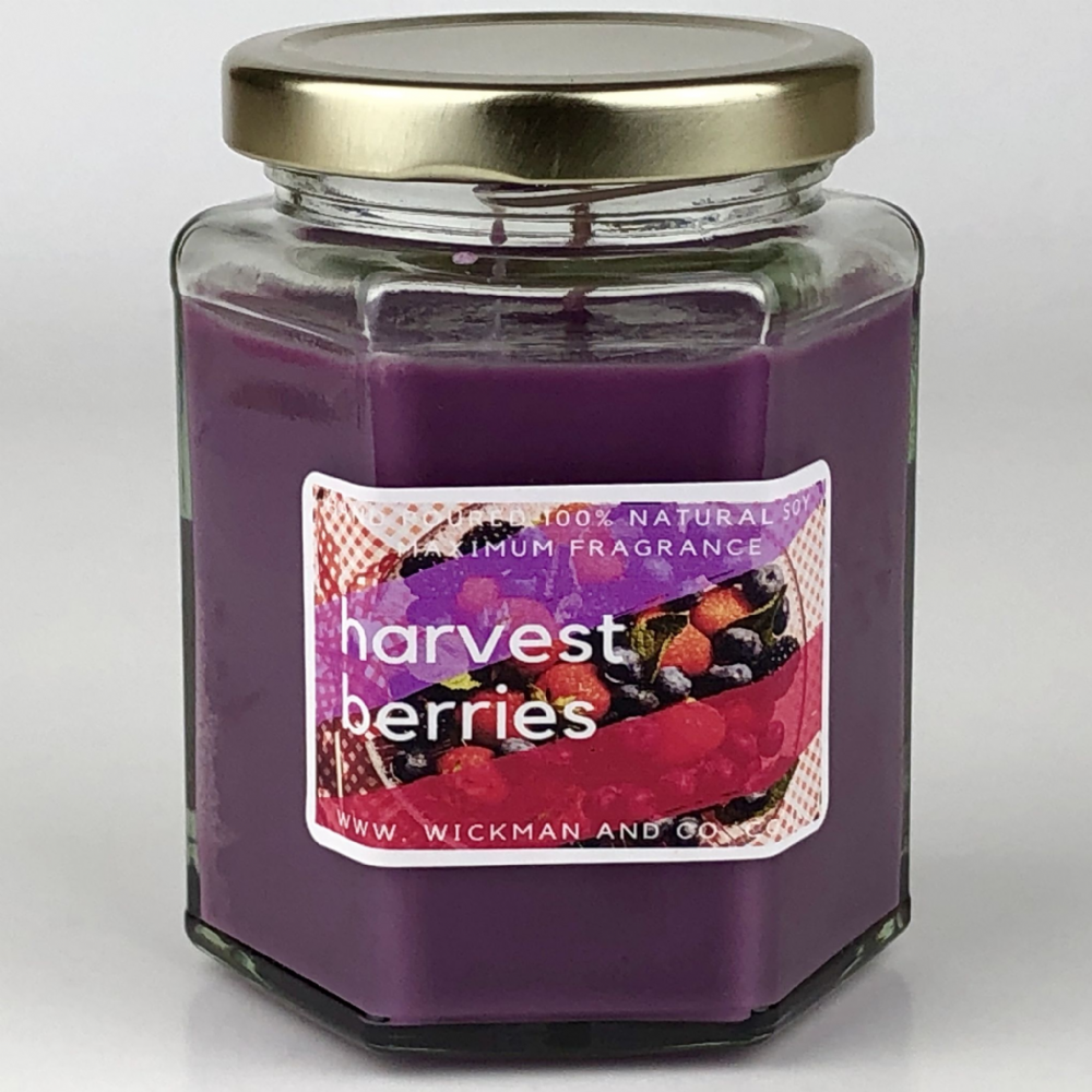 Harvest Berries Soy Wax Candle